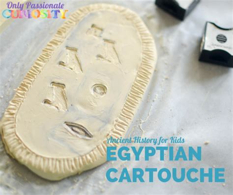 how to create a rubber st how to make a cartouche with clay the best cart