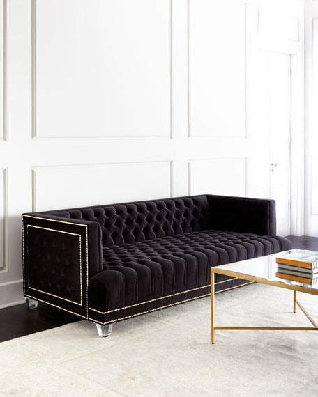 black and white tufted sofa best 25 tufted sofa ideas on home flooring