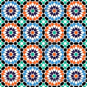 mosaic pattern clipart moroccan style mosaic pattern vector clip art