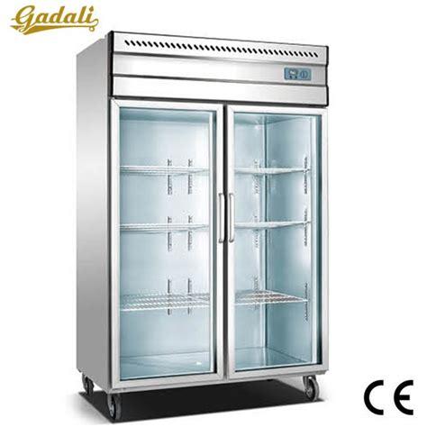 Hot Sale And Good Quality Freezer Commercial Glass Door Glass Door Freezers For Sale