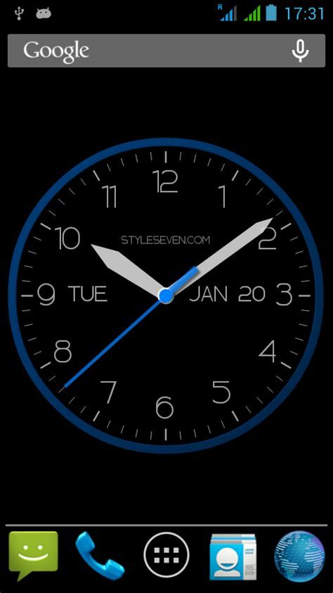 android clock modern clock for android 7 android apps on play