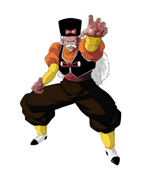 z androids dr gero character bomb