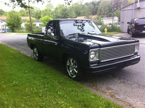 gmc and chevy the same purchase used 1976 gmc same as chevy c10 big