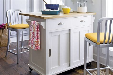 small portable kitchen island 6 portable kitchen islands to solve your small kitchen woes