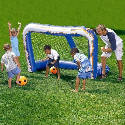 porta da calcio gonfiabile porta da calcio gonfiabile parco giochi bestway