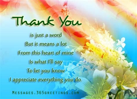 thank you picture messages 365greetings com