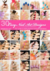 easy nail art book image gallery nail designs and instructions
