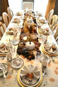 rustic glam fall tablescape beautiful thanksgiving and