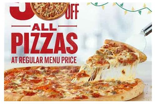 papa john's pizza coupons and specials