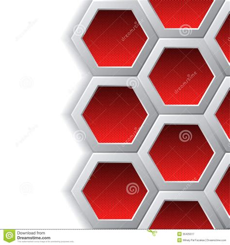 background design brochure red hexagons brochure background royalty free stock