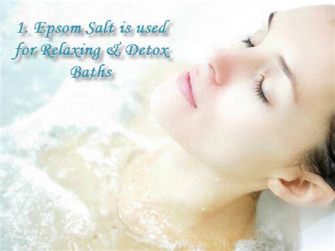 epsom salt bath without bathtub 6 best ways to use epsom salt home remedies by