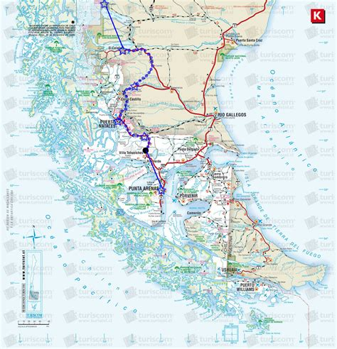 where is the map the route and maps a guide to cycling the carretera