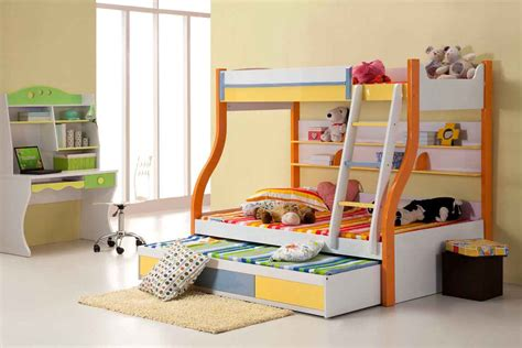 pictures of kids bedrooms kids trundle beds feel the home