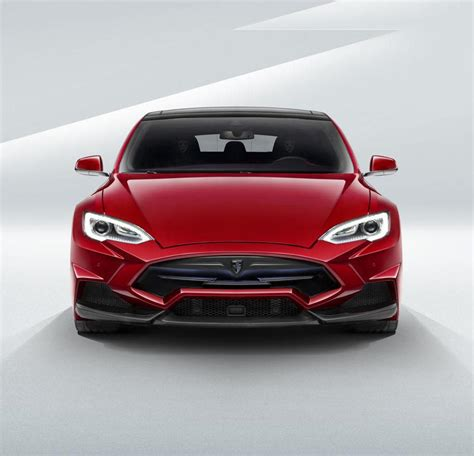 Tesla Model S Designer тюнинг Tesla Model S от Larte Design фото
