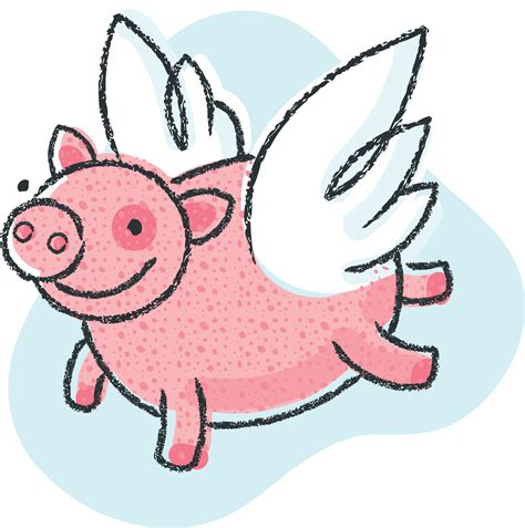 Flying Pig Clipart flying pig clip clipart best