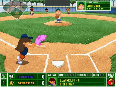 backyard baseball backyard baseball 2001 2000 sports