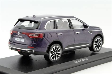 renault purple renault koleos 2016 purple die cast model norev 518391