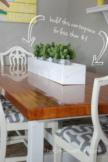 diy dining table centerpieces best 25 planter box centerpiece ideas on