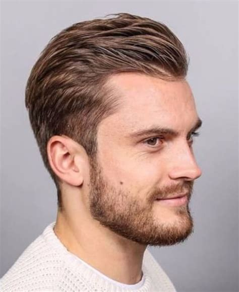 receding hairline slick back hair 45 hairstyles for men with receding hairlines