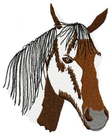 embroidery design horse head horse head embroidery design instant download