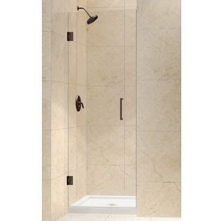 26 Shower Door Dreamline Unidoor 26 Inch Frameless Hinged Shower Door