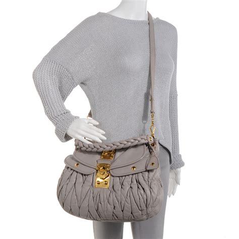 Miu Miu Coffer Nappa Matelasse Bag by Miu Miu Matelasse Nappa Leather Coffer Bag 62853