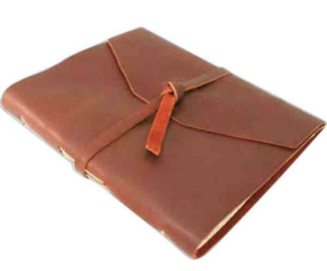 Handmade Writing Journals - handmade leather wrap journals top grain leather wrapped
