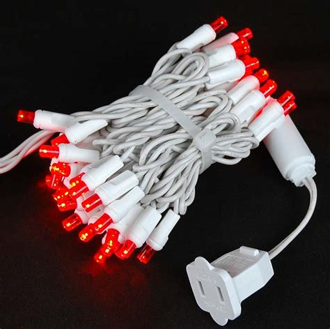 red and white led christmas lights red led christmas lights novelty lights inc