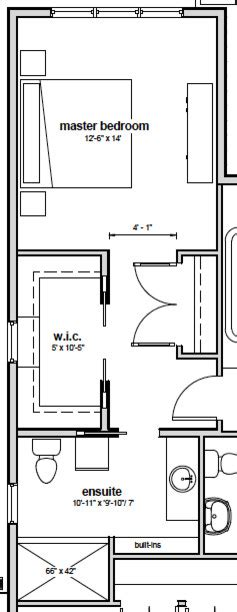 master bedroom layout options