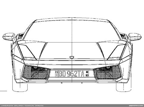 lamborghini front drawing lamborghini front view pencil and in color
