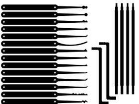 Lock Rake Template rake lock templates pin lock templates printable