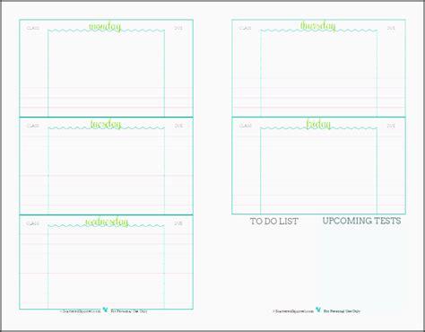 assignment planner template 5 assignment planner template sletemplatess