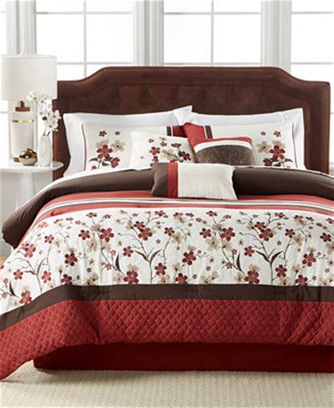 queen sale bed in a bag macys eden 7 pc queen comforter set bed in a bag bed bath
