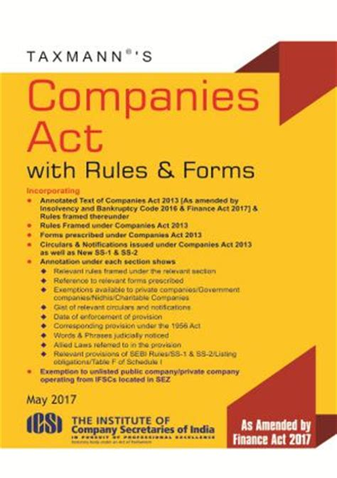 corporations act section 50 understanding companies act 2013