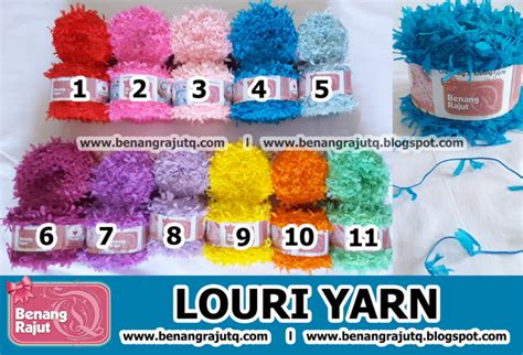 Bulu Ayam Ungu Muda 21 benang rajut limited louri yarn 8 ungu muda