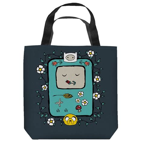 Adventure Tote Bag adventure time bmo tote bag tvmoviedepot