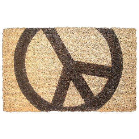 Peace Doormat - peace sign doormat walmart
