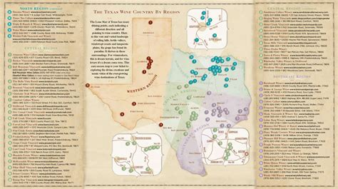 texas wine map texas wine country map texas mappery
