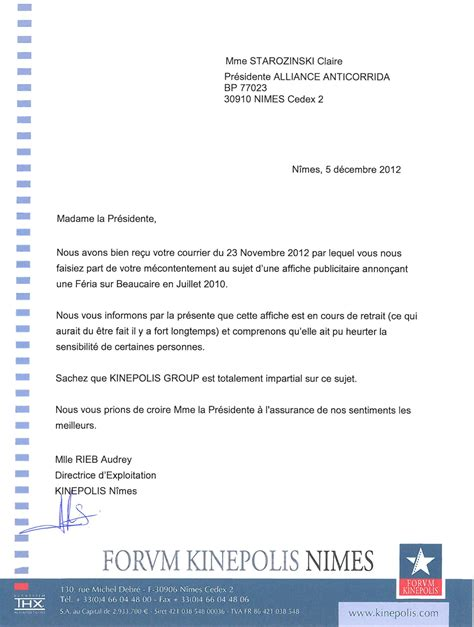 Lettre De Remerciement Hospitalisation modele lettre de remerciement au maire