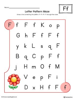 f pattern web reading worksheet about letter f kidz activities
