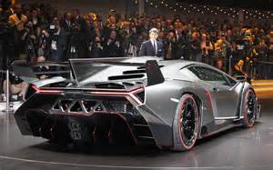 Lamborghini Veneno Rear Threat 740 Hp Lamborghini Veneno Is