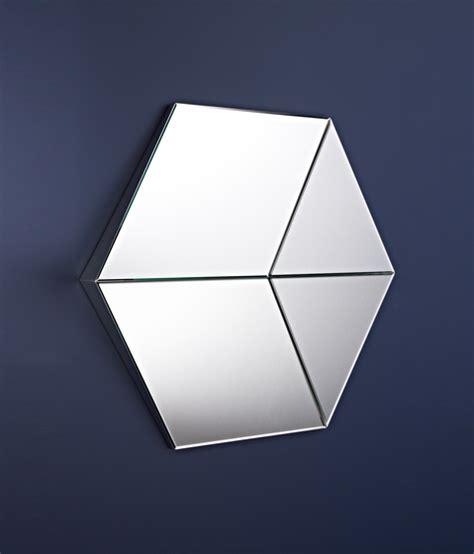 Hexagon Bevelled Mirror 10pcs 1 hexagon by deknudt mirrors product