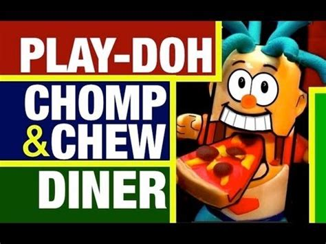chew chomp eat play doh food chomp chew food diner review by