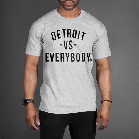 Hoodie Detroit 7 Jidnie Clothing detroit vs everybody t shirt as worn by slaughterhouse
