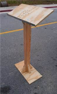 how to build how to build a wood podium pdf plans