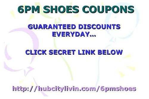 6pm shoes coupon june 2018