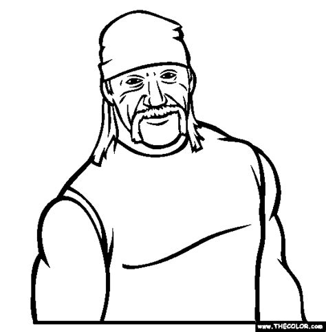 wwe coloring pages  coloring page