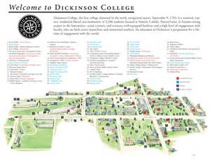 dickinson map the council of independent colleges historic cus