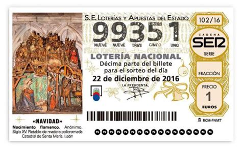cadena ser numero loter 237 a navidad 2016 la ser regala ilusi 243 n no te quedes