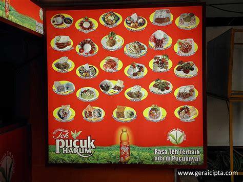 Teh Pucuk Per Box portfolio gerai cipta media promo solusi